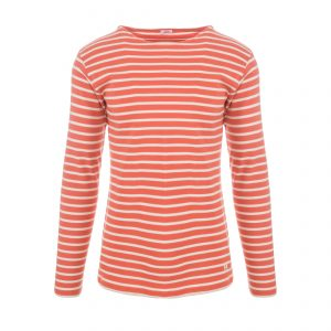 Marine Shirt Longsleeve Orange Henné/Zand