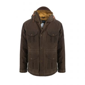 Goose Down Fisherman Parka Dark Tan