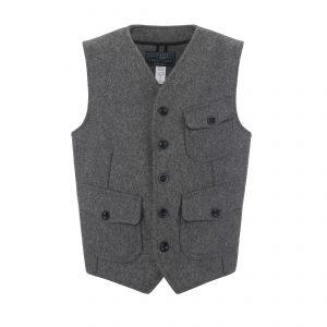 Wool Vest Grey