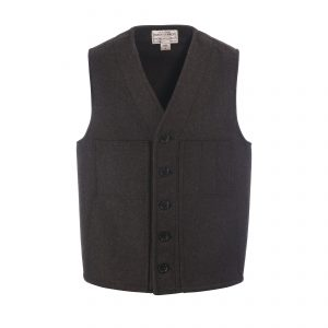 Mackinaw Wool Vest Brown