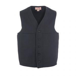 Mackinaw Wool Vest Navy