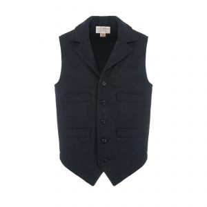 Western Vest Charcoal