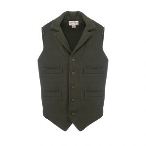 Western Vest Forest Green