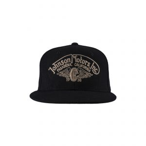 Winged Wheel Garage Cap Black