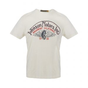 Winged Wheel T-Shirt Dirty White
