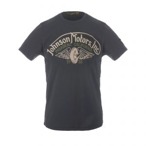Winged Wheel T-Shirt Oiled Black