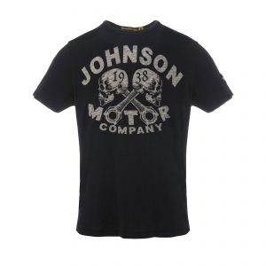 1938 Skulls T-Shirt Oiled Black