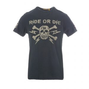 Ride Or Die 38 T-Shirt Oiled Black