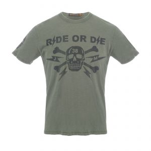 Ride Or Die 38 T-Shirt Olive Drab
