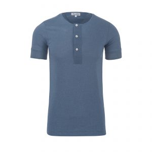 Henley 103 T-Shirt Blue Grey