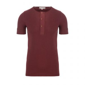Henley 103 T-Shirt Dark Red