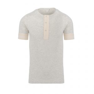 Henley 103 T-Shirt Grey Melange