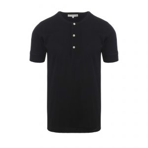 Henley 207 T-Shirt Deep Black