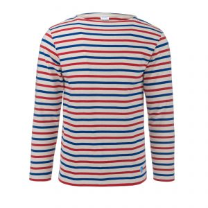 Marine Shirt Longsleeve Ecru/Bleu/Rouge