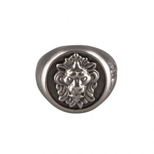 Lion Ring Silver