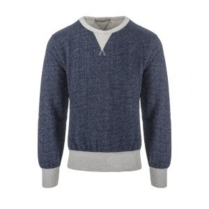 Training Sweat - Heavy Winter Fleece Blue Melange