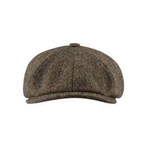 Ubaldo Cap Tweed Beige/Brown