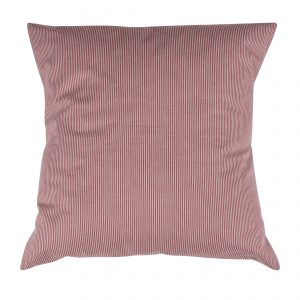Pillowcase Stripe Red/White