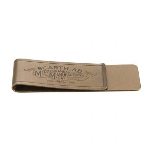 Money Clip Brass