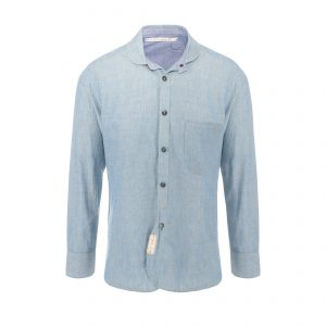 Cotton Shirt Light Blue