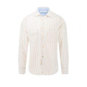 Cotton Shirt Beige