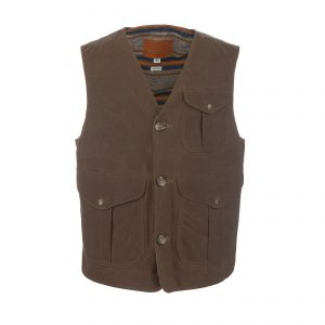 Tellason-Ceccarelli-Vest-Waxed-Canvas-Vest-Tan-Blanket-Lined-01-19092