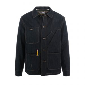 Coverall Jacket 16.5oz Indigo/Blanket Lined