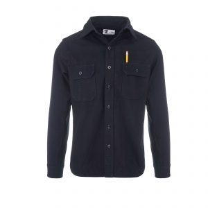 Clampdown Shirt 12.8oz Rinsed Indigo