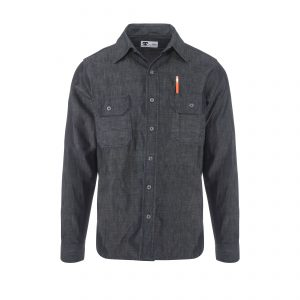 Clampdown Shirt 10.5oz Raw Denim Indigo