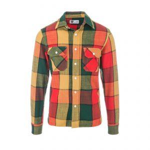 Clampdown Shirt Check 2 Colourful