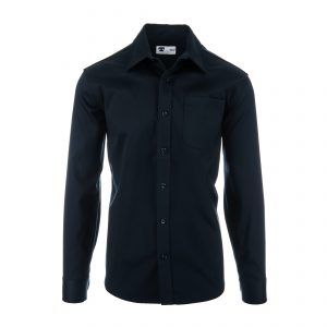 Longsleeve Single Pocket 7.5oz Shirt Navy