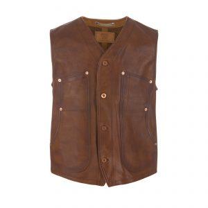 Leather Vest Grain