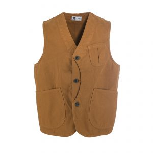 Worker Vest Canvas Duck
