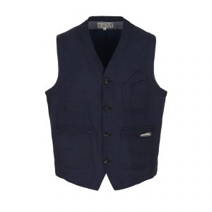 Scarti-Lab-413-SM233-Cotton-Vest-Navy_01-0057-2