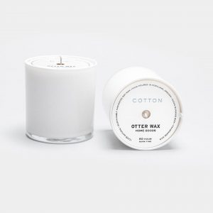 Cotton-Candle-White-Jar