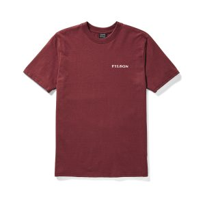 Short Sleeve Outfitter Graphic T-Shirt 20062528, Burnt Red, 20062528BurntRed, SS18, TShirts, Shirts, Mens, PDP, S/S OUTFITTER GRAPHIC T-SHIRT, JPG, might, as, well, have, the, best