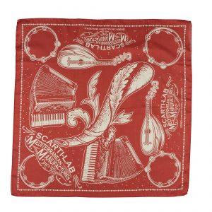 Scarti-Lab-Bandana-Music-Red-1116