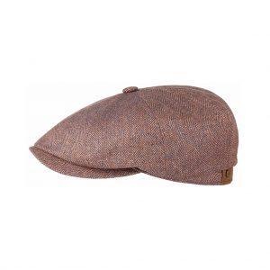 Stetson-hatteras-silk-herringbone-light-red-6842501-382