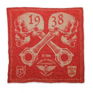 Johnson-Mototrs-Bandana-BN55417-1938-Skulls-Red