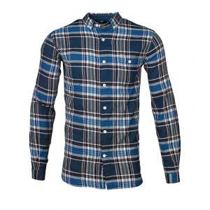 Knowledge-Cotton-Plaid-Button-Down- Shirt-90324-1161-01
