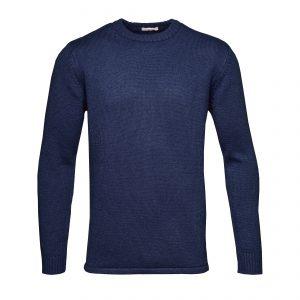 Knowledge-Cotton-round-neck-knit-navy-80445-1091-01