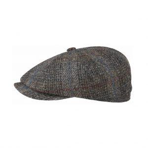 Stetson-hatteras-harris-tweed-virgin-wool-check-braun-6840307-235