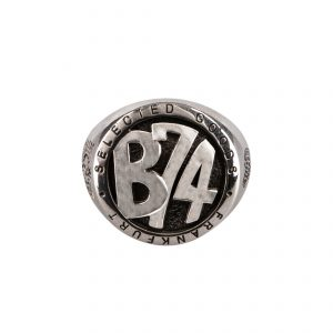 B74 Frankfurt Ring Custom-made by Rakelle Silver