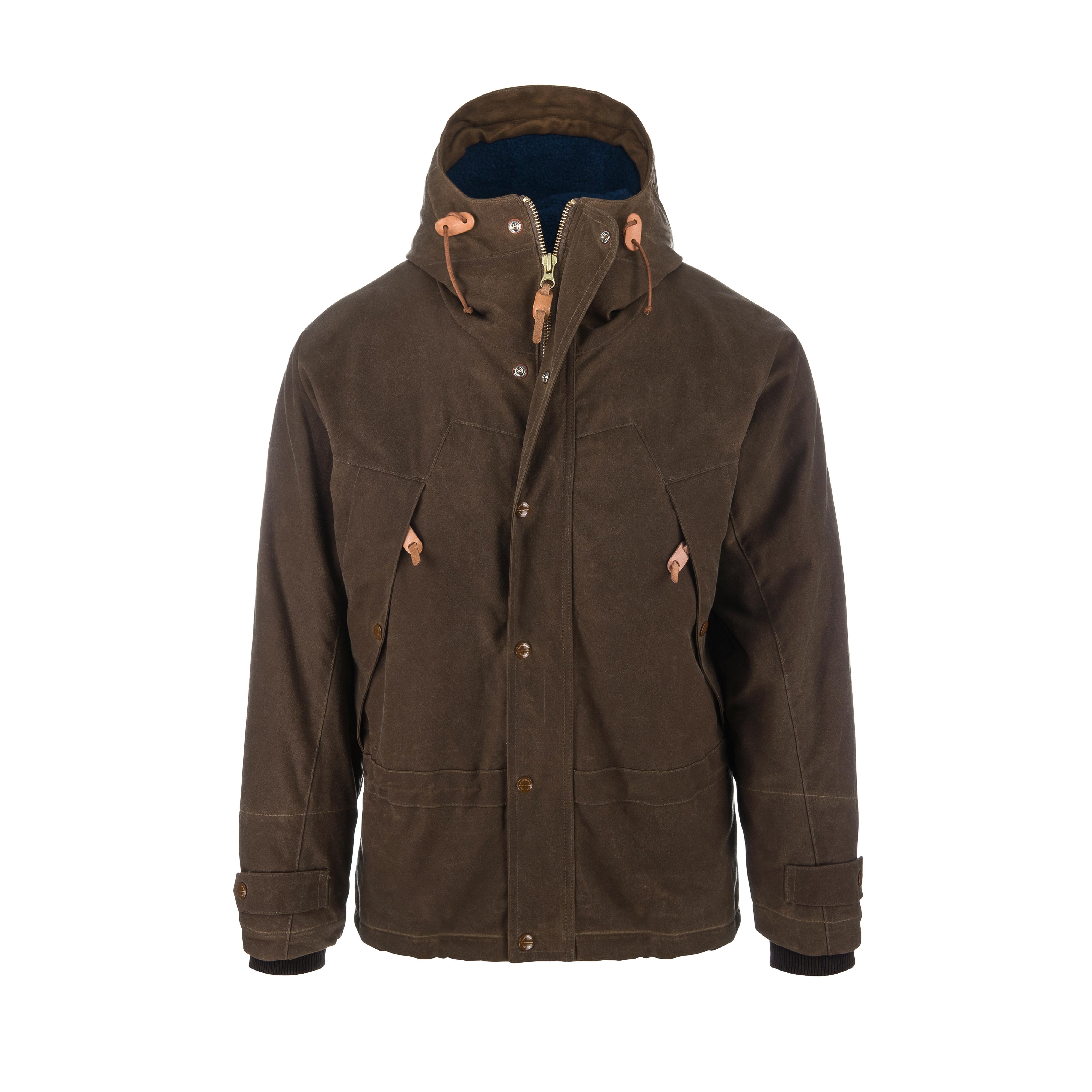 Mountain Jacket Dark Tan