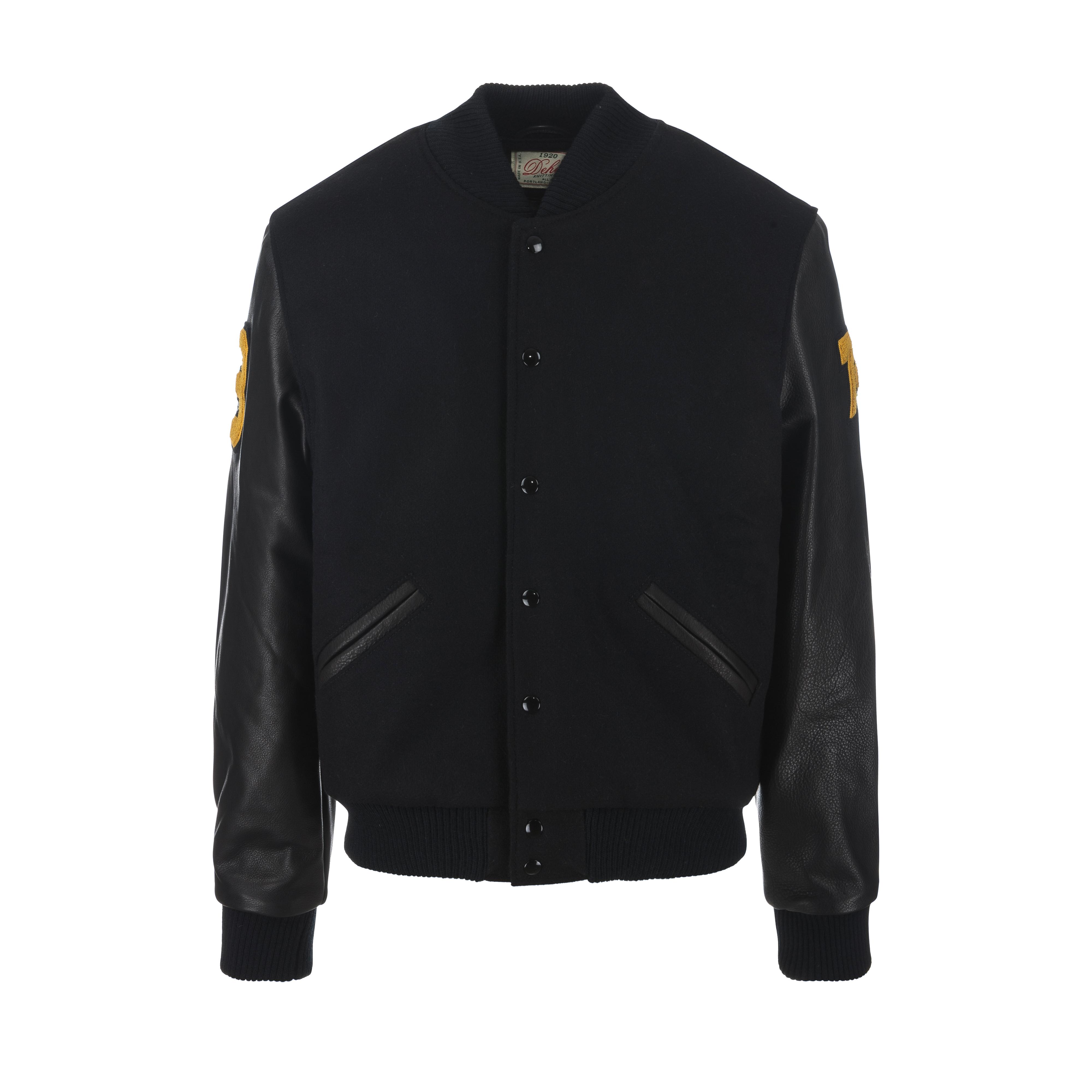 Frankfurt Germany Varsity Jacket Black