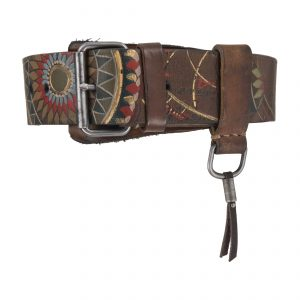 Ecuador 4.5cm Belt Colourful-Brown