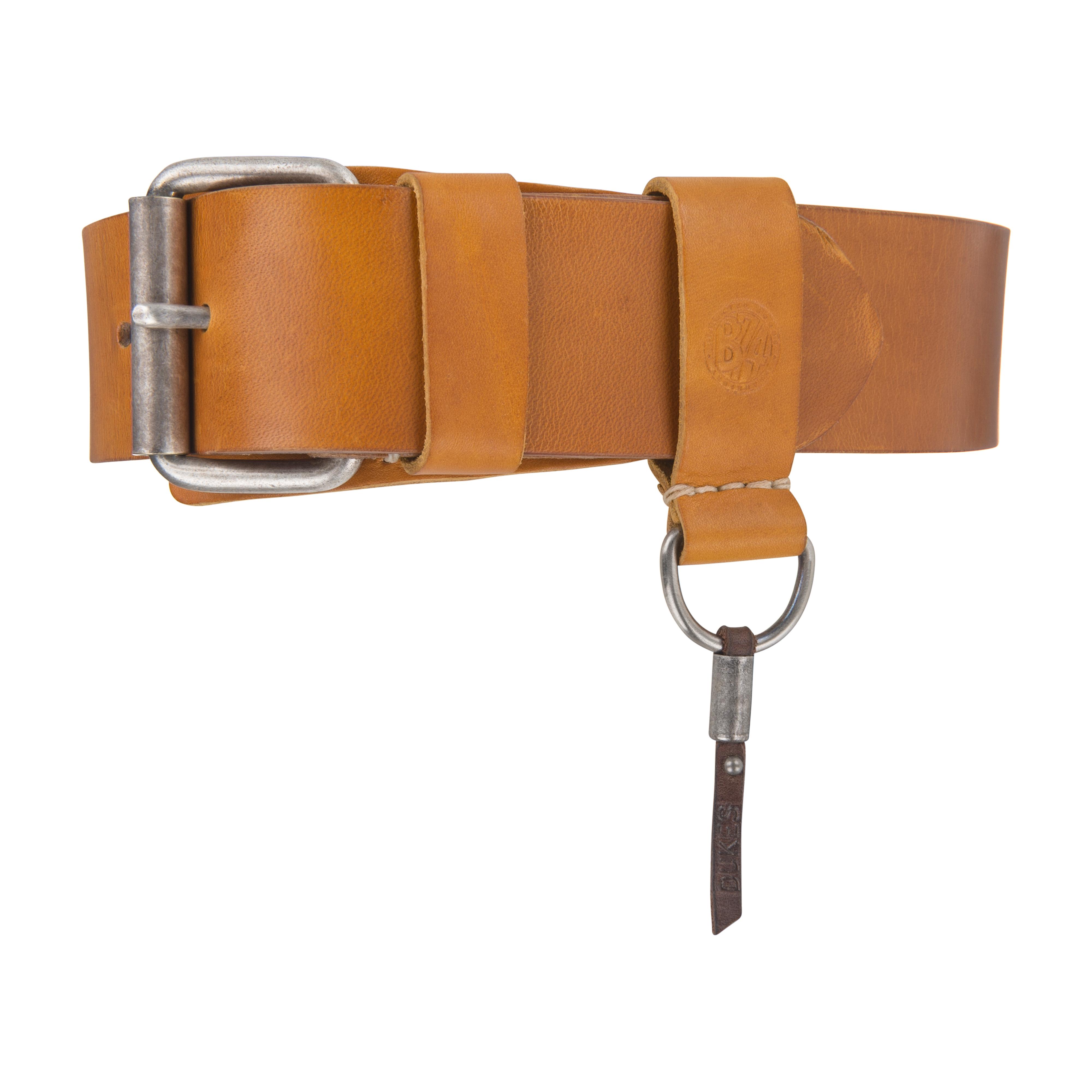 Heritage Handsewn 4.5cm Belt Cognac