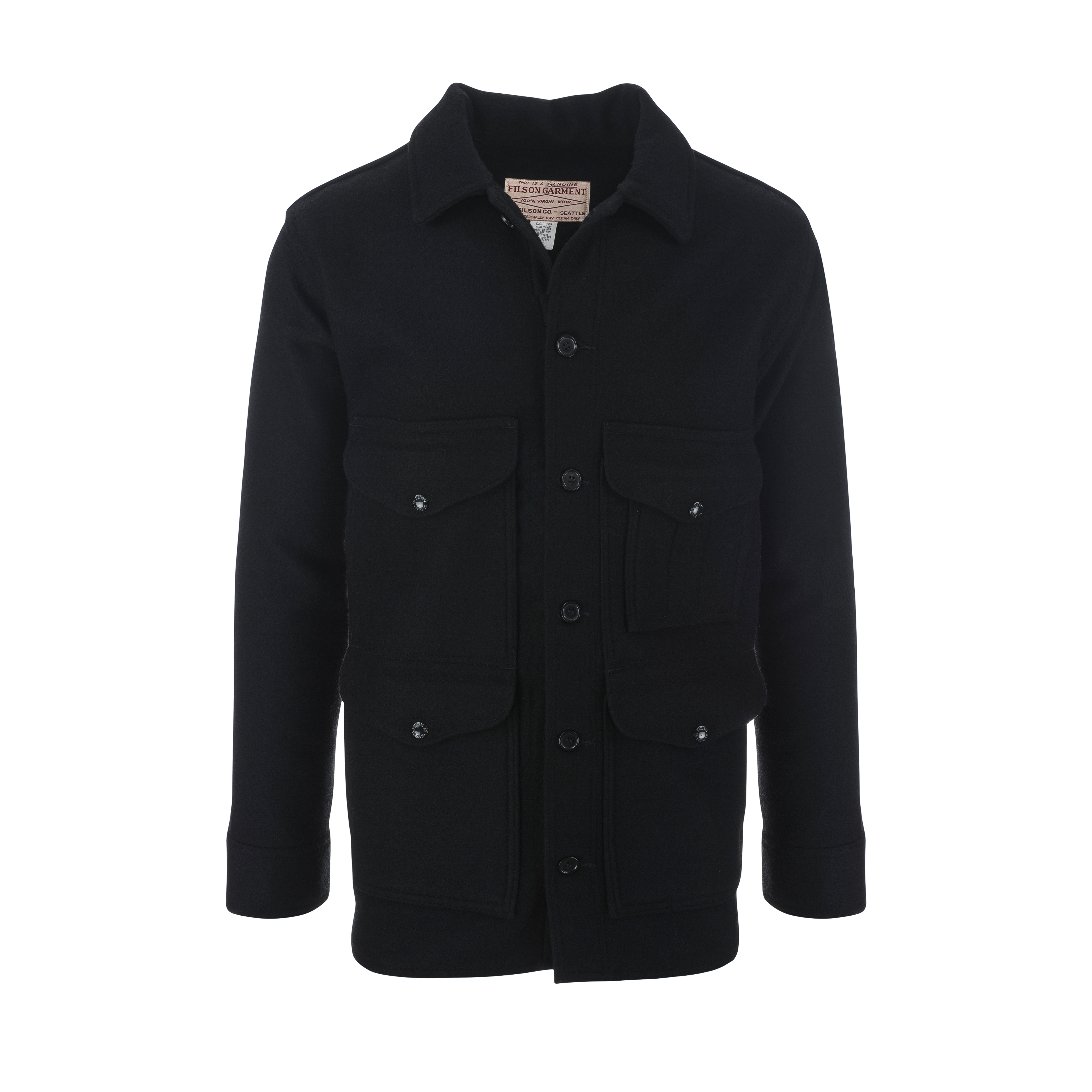 Mackinaw Cruiser Jacket Black