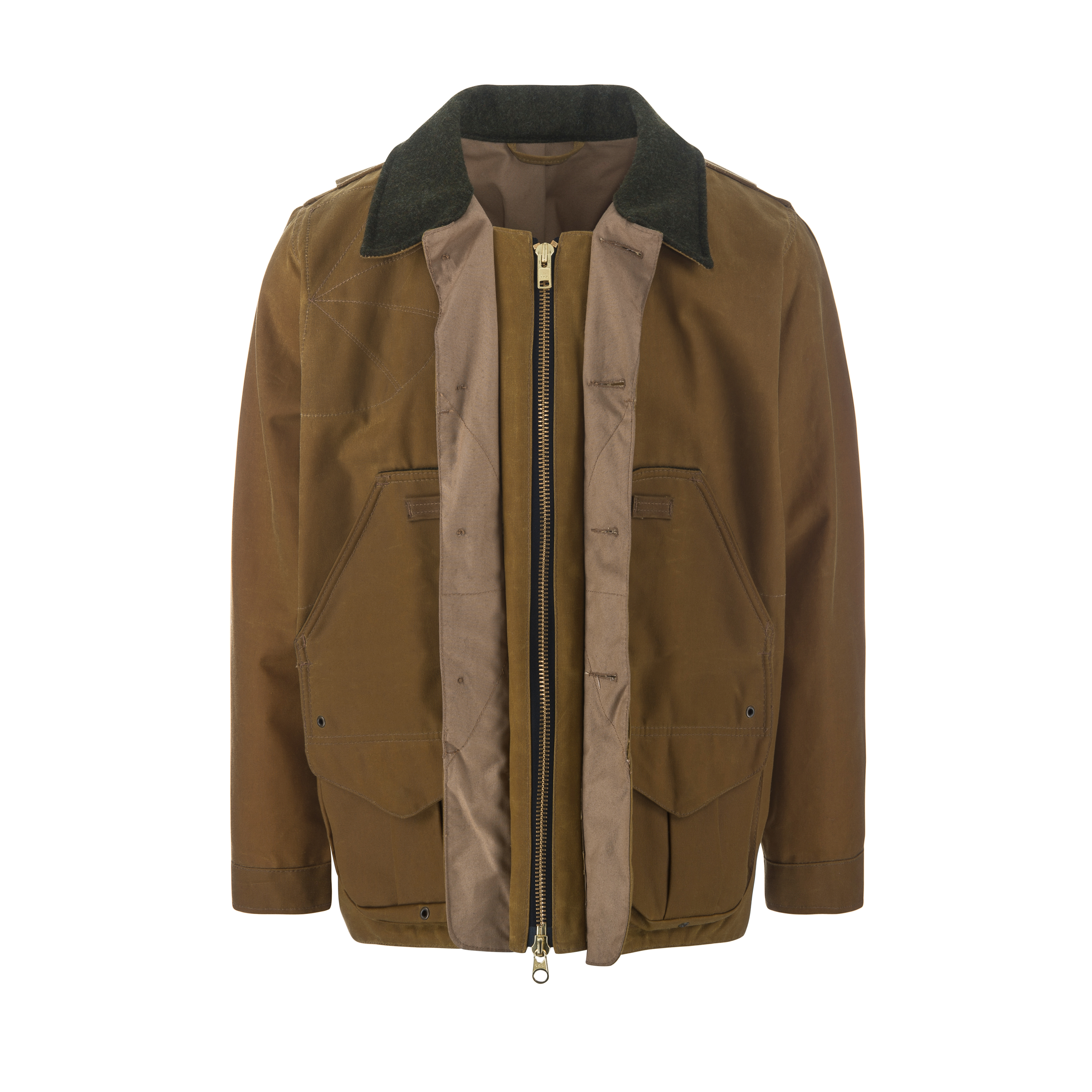 Tin Cloth Field Coat Tan