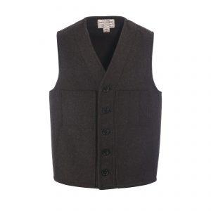 Mackinaw Wool Vest Brown